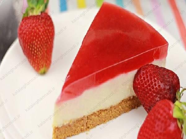 ژله روکش کیک